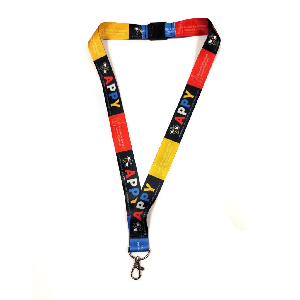 RMHC Be Appy Lanyard